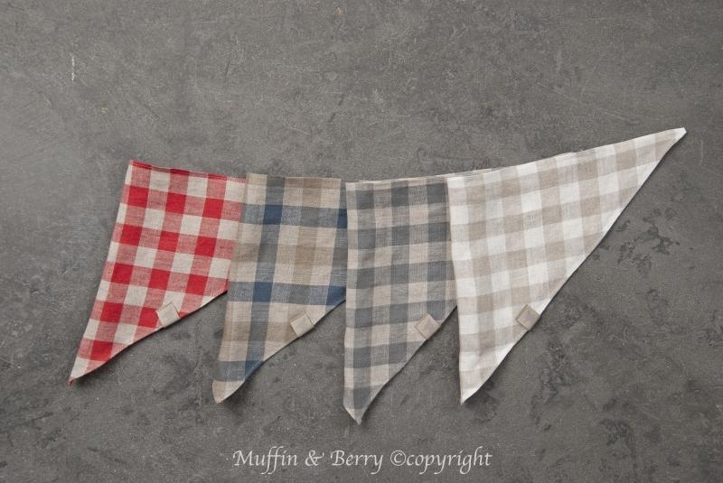 Linen bandanas BERNARD